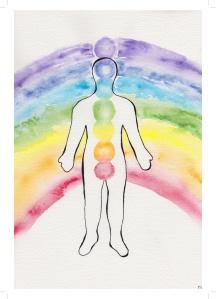 centred balanced chakra