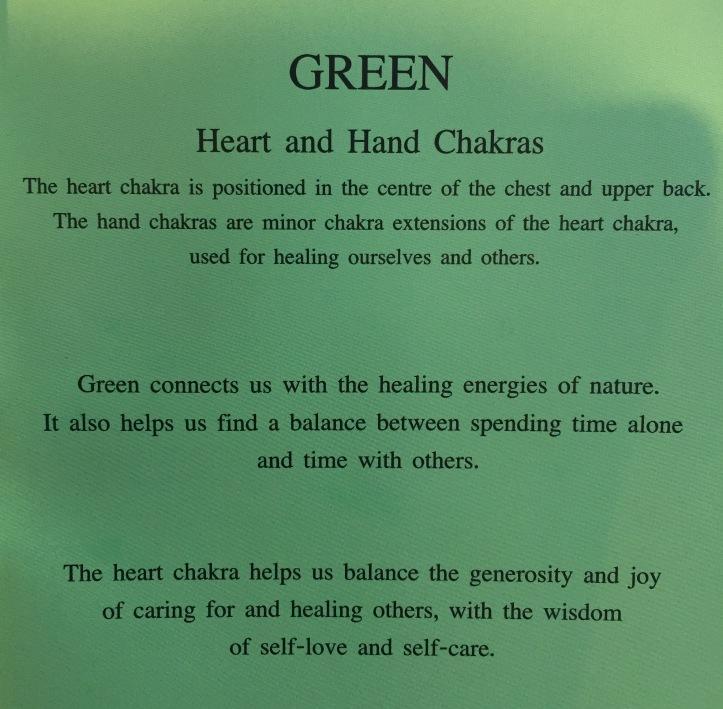 green heart chakra